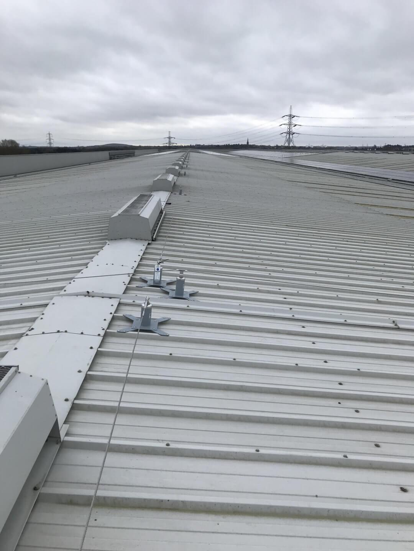 Sheet Roof for Distribution Warehouse West Midlands