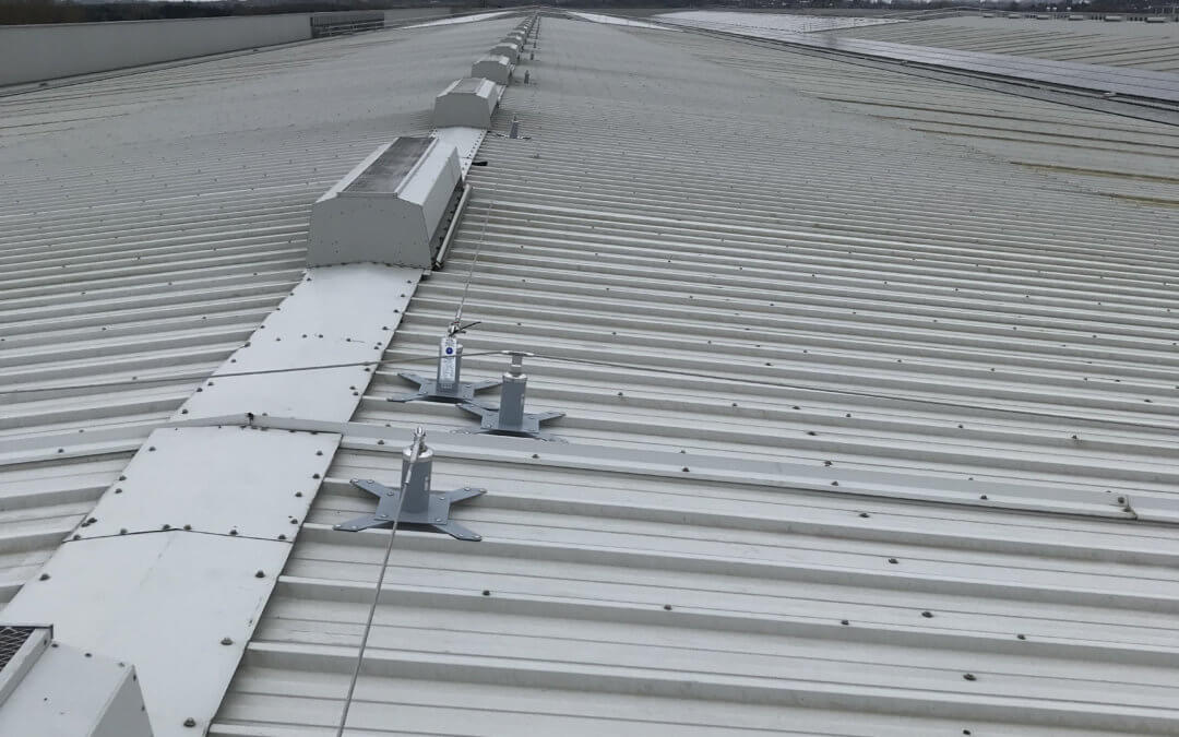 Sheet Roof for Distribution Warehouse West Midlands